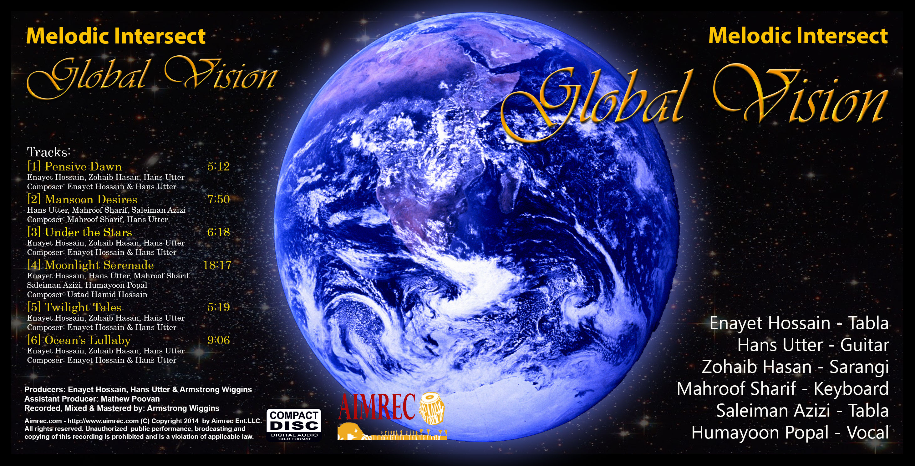 Picture of Global Vision album by Melodic Intersect