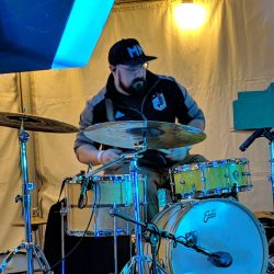 Pic of Drummer Robb Lauer
